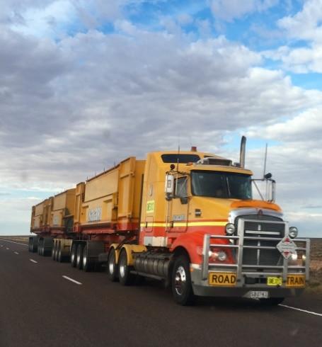 Imagen de un camión de carga
