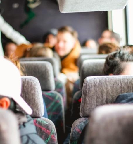 Imagen referencial de pasajeros